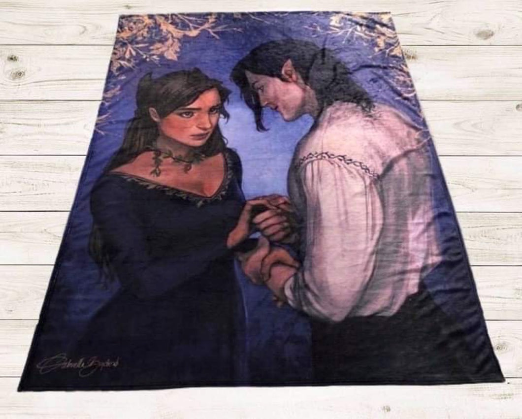 Random Fae Couple Blanket