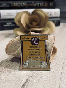 KotW Middle Enamel Pin