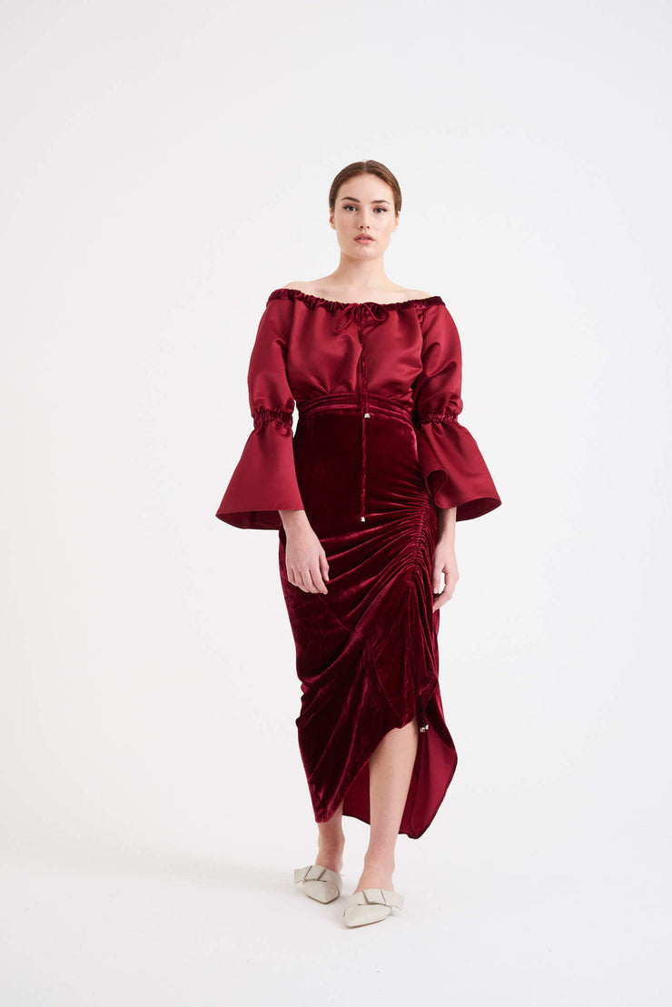 Saloni | Burgundy