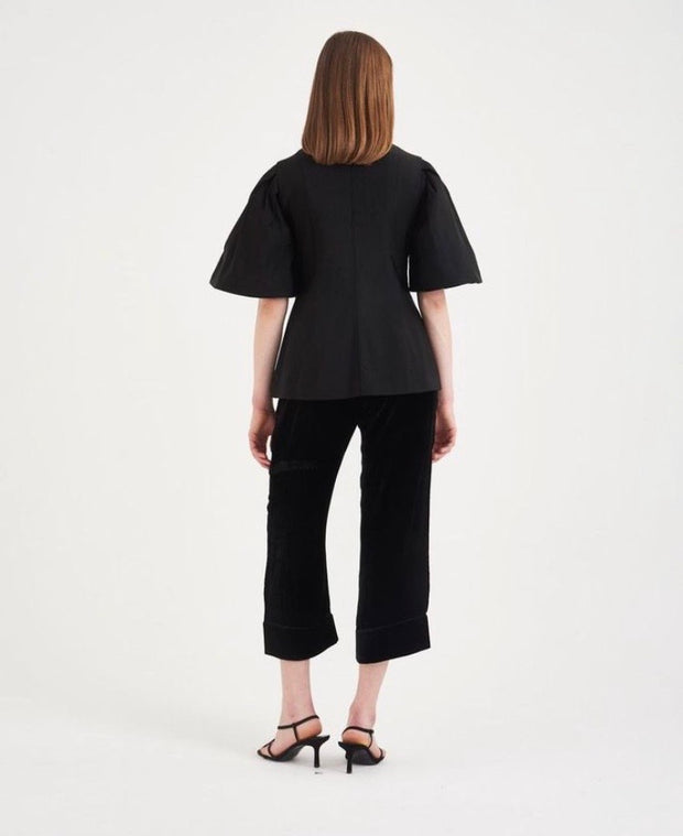 TABOR TOP | BLACK