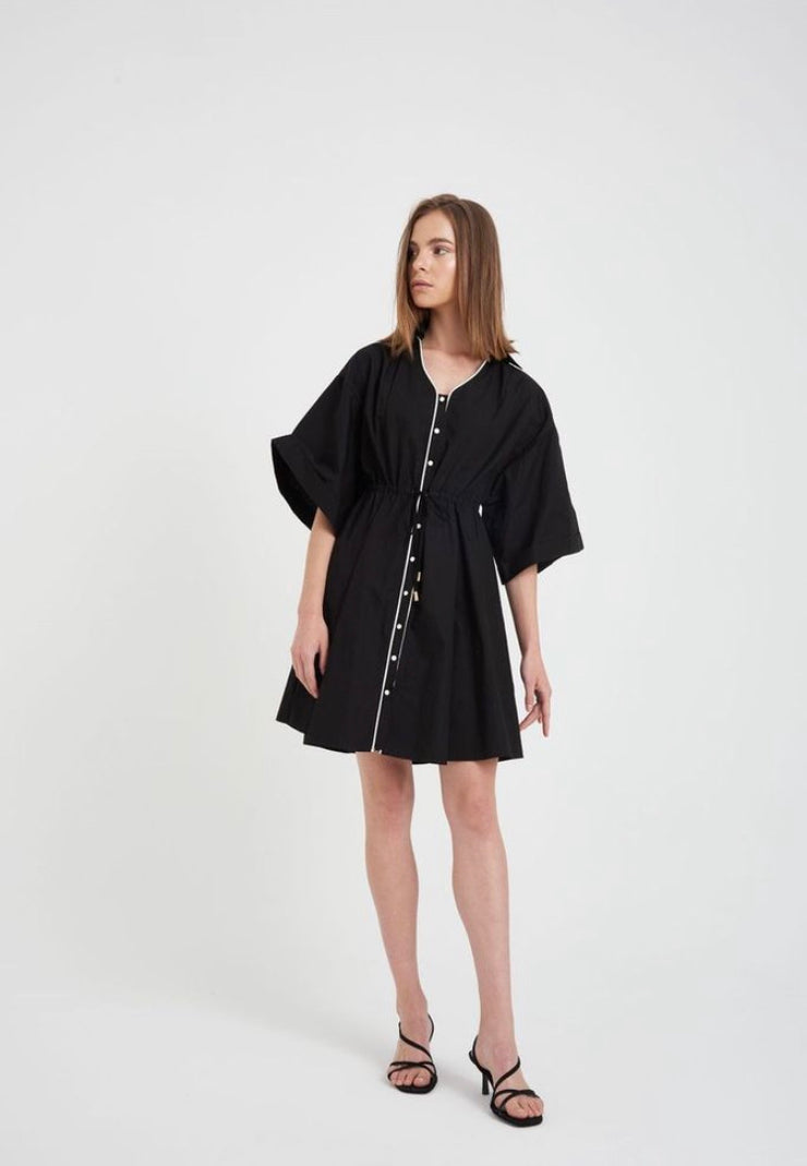 Deni mini shirt dress