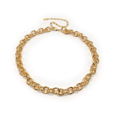 Clara Gold Chain Necklace