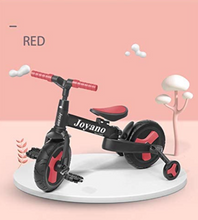 Load image into Gallery viewer, Joyano 5-in-1 Kids Tricycle/Balance Bike/Push Bike with Pushbar for 2-8 Yrs Kids (Free Shipping CANADA,USA)