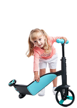 Load image into Gallery viewer, Fawn Toys 3-in-1 Junior Kick Scooter/Balance Bike/Tricycle Indoor/Outdoor Toddler Ride-On Bike Multifunctional 2-6 Yrs (Free Shipping CANADA, USA)