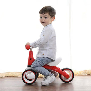 Joyano Baby Balance Bike-10-24 Month Children Walker | Toys for 1 Year Old Boys Girls | No Pedal Infant 3 Wheels Toddler Bicycle | Best First Birthday Christmas New Year