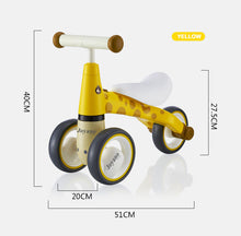 Load image into Gallery viewer, Joyano Baby Balance Bike-10-24 Month Children Walker | Toys for 1 Year Old Boys Girls | No Pedal Infant 3 Wheels Toddler Bicycle | Best First Birthday Christmas New Year