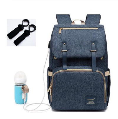 Backpack Diaper Bag with USB