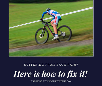 BACK INJURY DUE TO CYCLING AND ITS FIXES