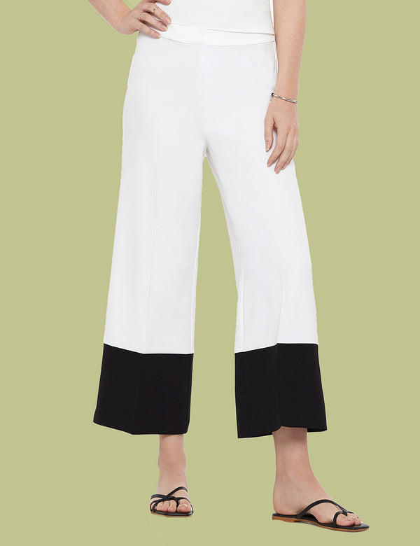 Colorblocked Cropped Pant