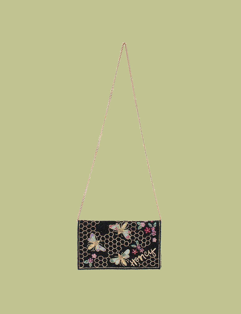 Honey Bee Crossbody Clutch