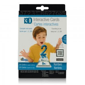 Cypher Kids Numbers 3D Interactive Cards