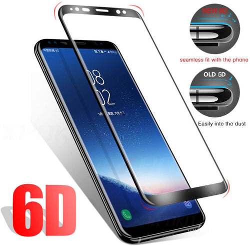 Full Cover Tempered Glass Screen Protector For Samsung Galaxy S9 S8 Plus/Note  8