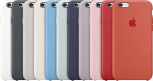 Apple Silikon custodia Back cover iPhone 6S