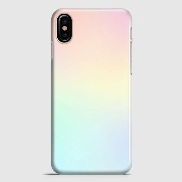 Apple iPhone X custodia Color Gradient