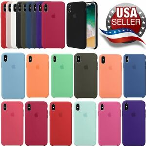 Apple iPhone X XS XR custodia Soft Silicone