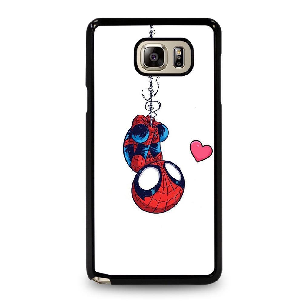 coque custodia cover fundas hoesjes j3 J5 J6 s20 s10 s9 s8 s7 s6 s5 plus edge D11058 BABY SPIDERMAN Samsung Galaxy Note 5 Case