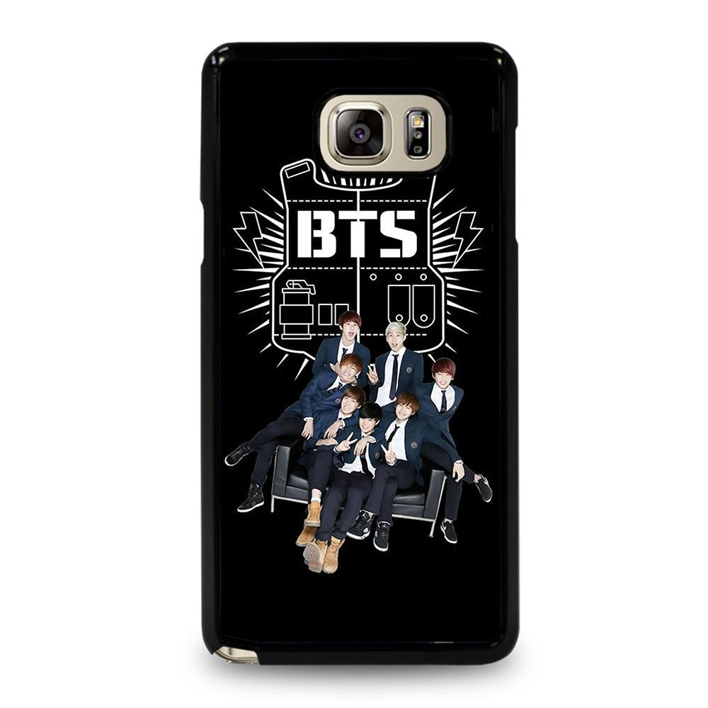 coque custodia cover fundas hoesjes j3 J5 J6 s20 s10 s9 s8 s7 s6 s5 plus edge D11418 BANGTAN BOYS BTS FAMILY Samsung Galaxy Note 5 Case