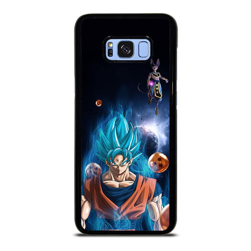 coque custodia cover fundas hoesjes j3 J5 J6 s20 s10 s9 s8 s7 s6 s5 plus edge D12134 BEERUS VS GOKU DRAGON BALL SUPER 2 Samsung Galaxy S8 Plus Case