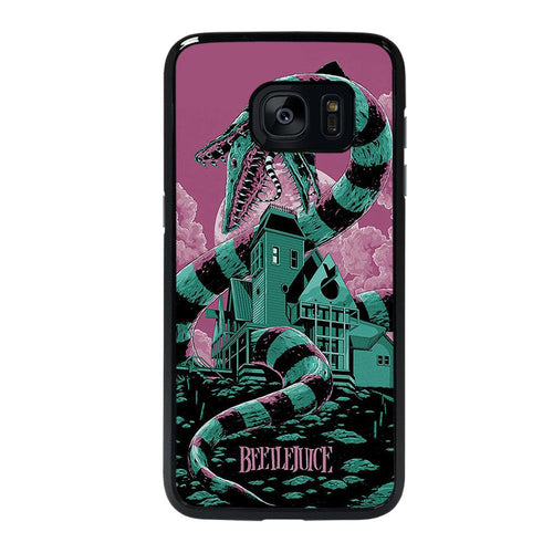 coque custodia cover fundas hoesjes j3 J5 J6 s20 s10 s9 s8 s7 s6 s5 plus edge D12208 BEETLEJUICE Samsung galaxy s7 edge Case