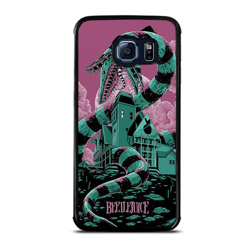 coque custodia cover fundas hoesjes j3 J5 J6 s20 s10 s9 s8 s7 s6 s5 plus edge D12205 BEETLEJUICE Samsung Galaxy S6 Edge Case