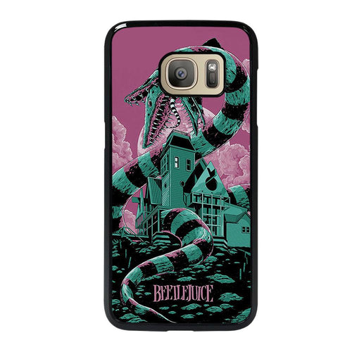 coque custodia cover fundas hoesjes j3 J5 J6 s20 s10 s9 s8 s7 s6 s5 plus edge D12207 BEETLEJUICE Samsung Galaxy S7 Case