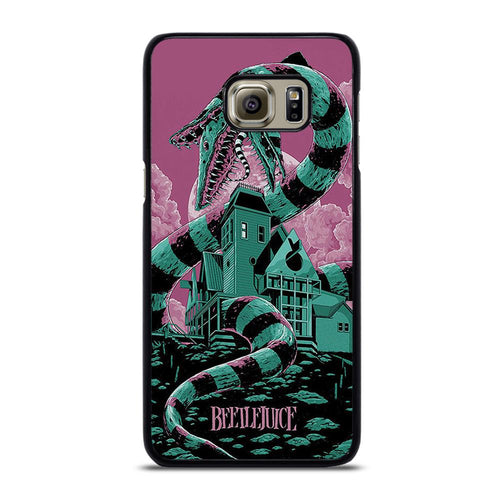 coque custodia cover fundas hoesjes j3 J5 J6 s20 s10 s9 s8 s7 s6 s5 plus edge D12206 BEETLEJUICE Samsung Galaxy S6 Edge Plus Case