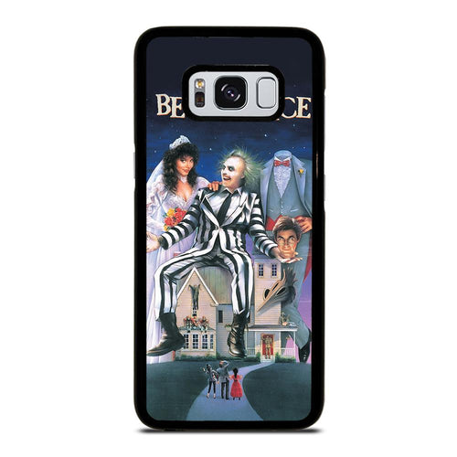 coque custodia cover fundas hoesjes j3 J5 J6 s20 s10 s9 s8 s7 s6 s5 plus edge D12189 BEETLEJUICE MOVIE TIM BURTON Samsung Galaxy S8 Case