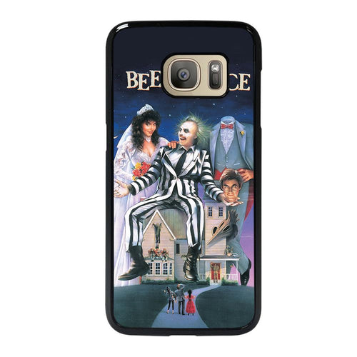 coque custodia cover fundas hoesjes j3 J5 J6 s20 s10 s9 s8 s7 s6 s5 plus edge D12187 BEETLEJUICE MOVIE TIM BURTON Samsung Galaxy S7 Case
