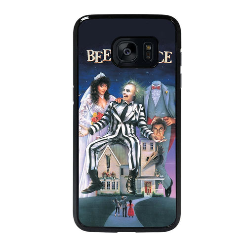coque custodia cover fundas hoesjes j3 J5 J6 s20 s10 s9 s8 s7 s6 s5 plus edge D12188 BEETLEJUICE MOVIE TIM BURTON Samsung galaxy s7 edge Case