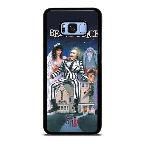 coque custodia cover fundas hoesjes j3 J5 J6 s20 s10 s9 s8 s7 s6 s5 plus edge D12190 BEETLEJUICE MOVIE TIM BURTON Samsung Galaxy S8 Plus Case