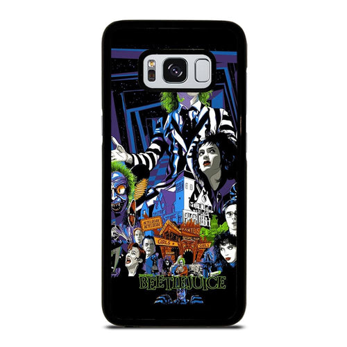 coque custodia cover fundas hoesjes j3 J5 J6 s20 s10 s9 s8 s7 s6 s5 plus edge D12170 BEETLEJUICE MOVIE TIM BURTON #1 Samsung Galaxy S8 Case