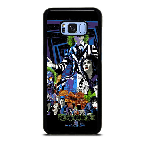 coque custodia cover fundas hoesjes j3 J5 J6 s20 s10 s9 s8 s7 s6 s5 plus edge D12171 BEETLEJUICE MOVIE TIM BURTON #1 Samsung Galaxy S8 Plus Case