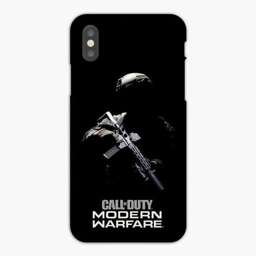 Custodia Cover iphone X XS Max XR Call Of Duty Modern Warfare Art