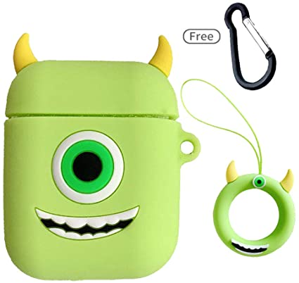Cartoon Mike Wazowski Silicone custodias