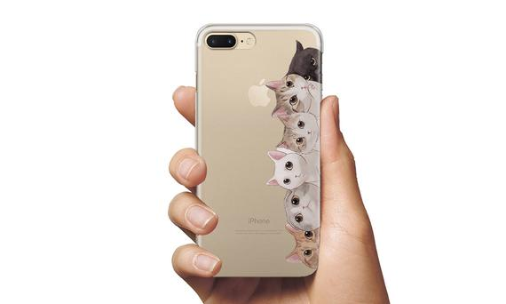 Cats cute custodia cover for phone iPhones