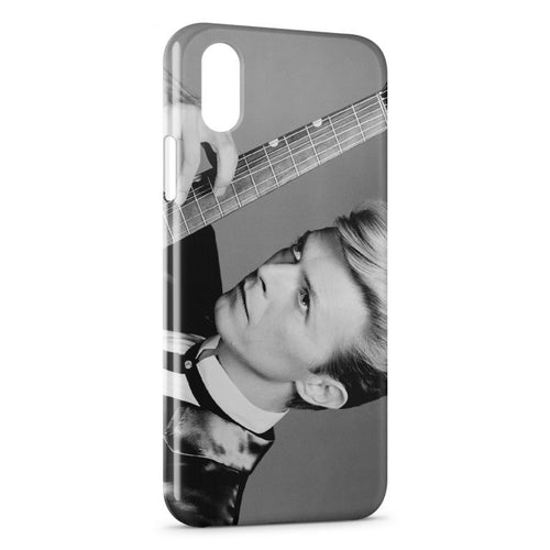 Custodia Cover iPhone X & XS David Bowie 2