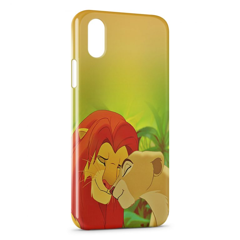 Custodia Cover iPhone X & XS Le Roi Lion
