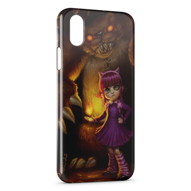Custodia Cover iPhone X & XS League Of Legends Annie 1