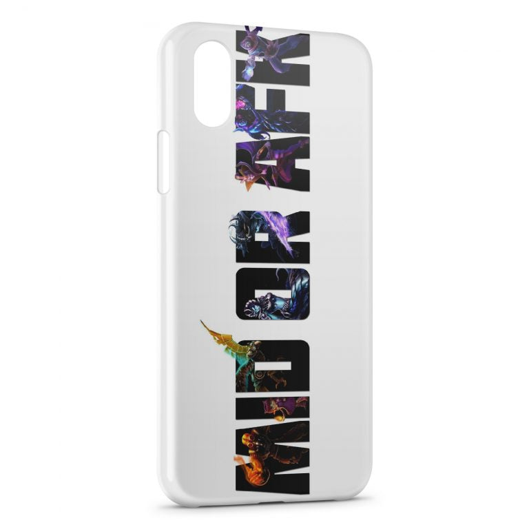 Custodia Cover iPhone X & XS League Of Legends Mid Or Afk