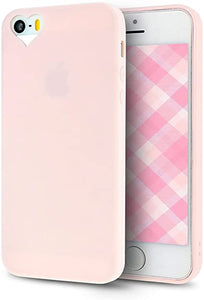 Custodia per Apple iPhone 5S 5 flessibile ROSA Cover Sottile Ultra