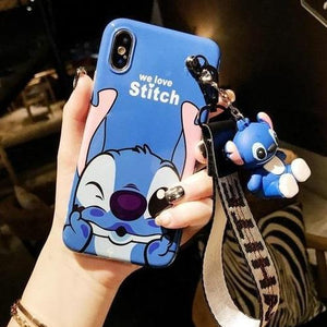 Disney Cartoon Lanyard Phone custodia