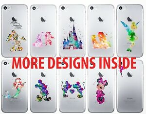 Disney iPhone custodia Watercolour Princess