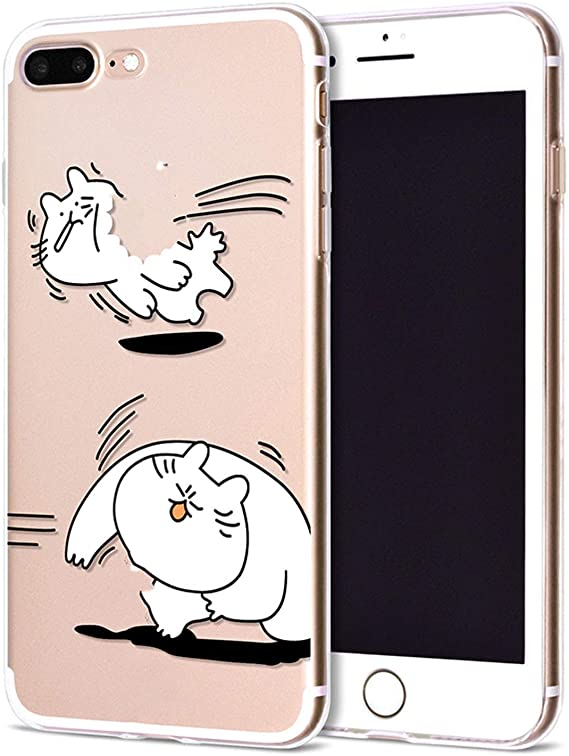 For Funda IPhone 6 custodia 7 Plus X Cute
