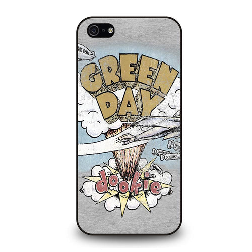 coque custodia cover fundas iphone 11 pro max 5 6 7 8 plus x xs xr se2020 C20159 GREEN DAY DOOKIE iPhone 5/5S/SE Case