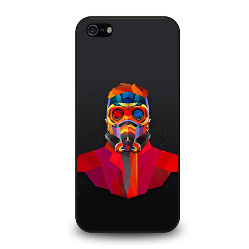 coque custodia cover fundas iphone 11 pro max 5 6 7 8 plus x xs xr se2020 C20237 GUARDIANS OF THE GALAXY STAR LORD iPhone 5/5S/SE Case