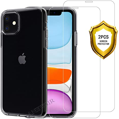 GeeRic Cover Compatibile per iPhone 11 6.1'' Trasparente Custodia