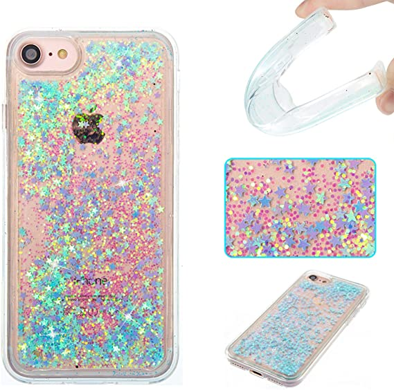 Glitter Phone custodias for iPhone