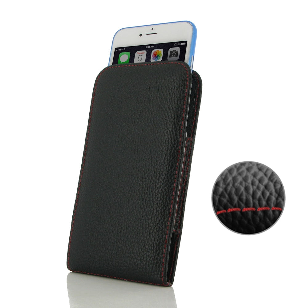 Iphone 6 Plus Leather custodia Cover Pouch