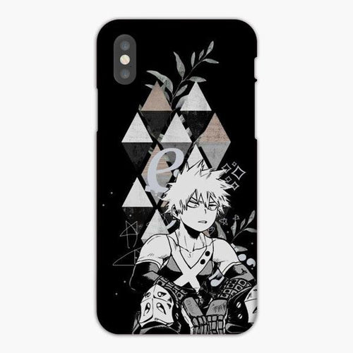 Custodia Cover iphone X XS Max XR Katsuki Bakugou Boku No Hero Academia