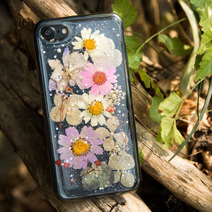 Pressed Real Flower iPhone 7 Plus custodia
